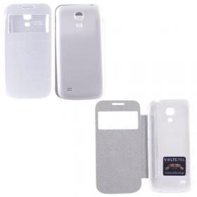 ΘΗΚΗ SAMSUNG I9195 S4 MINI BATTERY COVER VIEW WHITE VOLTE-TEL