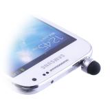 EARPHONE ANTI-DUST JACK PLUG 3.5mm + STYLUS TOUCH PEN SILVER