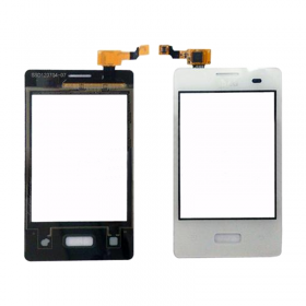 LG E400 OPTIMUS L3 TOUCH SCREEN + LENS WHITE 3P OR