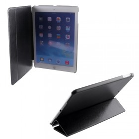 ΘΗΚΗ IPAD 5/IPAD AIR LEATHER BOOK STAND BLACK VOLTE-TEL
