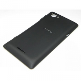 SONY C2104/C2105 XPERIA L BLACK BATTERY COVER OR