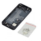IPHONE 5 BATTERY COVER BLACK + FLEX COMPLETE 3P OR