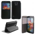 VOLTE-TEL ΘΗΚΗ SAMSUNG S5 G900 HARD VIEW BOOK-STAND BLACK