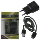 VOLTE-TEL NOTE 3(ΦΟΡΤΙΣΗΣ-DATA VCD01 USB 3.0+TRAVEL VTU21 2100mA) BLACK