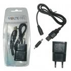 VOLTE-TEL NOKIA 6101 (USB CONNECTOR+VCUA01+TRAVEL VTU15 1500mA) BLACK
