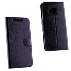 VOLTE-TEL ΘΗΚΗ HTC ONE M9 LINE LEATHER-TPU BOOK STAND BLACK