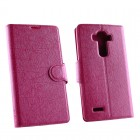 VOLTE-TEL ΘΗΚΗ LG G4 H815 LINE LEATHER-TPU BOOK STAND PINK