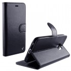 ΘΗΚΗ SAMSUNG GALAXY J7 2016 J710 LEATHER-TPU BOOK STAND BLACK VL