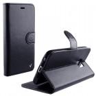 ΘΗΚΗ LG ZERO H650 LEATHER PU BOOK-STAND BLACK VOLTE-TEL