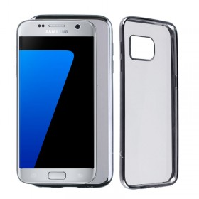VOLTE-TEL ΘΗΚΗ SAMSUNG S7 G930 FACEPLATE ELECTROPLATING GREY