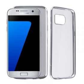 VOLTE-TEL ΘΗΚΗ SAMSUNG S7 G930 FACEPLATE ELECTROPLATING SILVER