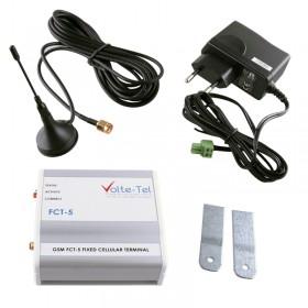 GSM BOX FCT-5 VOLTE-TEL ΣΥΝΔΕΣΗ ΤΗΛΕΦΩΝΙΚΟΥ ΚΕΝΤΡΟΥ+ΣΥΝΑΓΕΡΜΟΥ