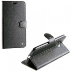 ΘΗΚΗ ZTE BLADE V7 SILK LEATHER-TPU BOOK STAND BLACK VL
