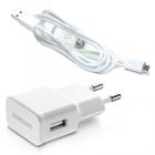 TRAVEL SAMSUNG ETA-U90EWEG USB+DATA ECB-DU4AWE 2A WHITE BULK OR