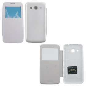 VOLTE-TEL ΘΗΚΗ SAMSUNG G3815 EXPRESS 2 BATTERY COVER VIEW WHITE