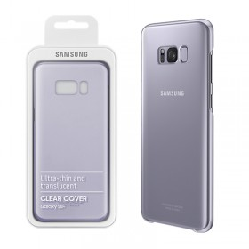 ΘΗΚΗ SAMSUNG S8+ G955 EF-QG955CVEGWW CLEAR COVER VIOLET PACK OR