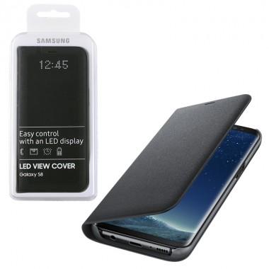 ΘΗΚΗ SAMSUNG S8 G950 EF-NG950PBEGWW LED VIEW COVER BLACK PACK OR