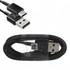 SAMSUNG EP-DG950CBE S8 TYPE C USB 2 ΦΟΡΤΙΣΗ-DATA 1.2m BLACK BULK OR