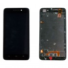 HUAWEI ASCEND G620S FRONT+ΟΘΟΝΗ+TOUCH SCREEN + LENS BLACK 3P OR