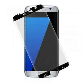 TEMPERED GLASS SAMSUNG S7 EDGE G935 9H 0.30mm 3D SEMI-CURVED BLK