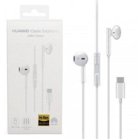 HANDS FREE STEREO HUAWEI CM33 TYPE C WHITE PACKING OR