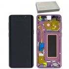 SAMSUNG G960F GALAXY S9 ΟΘΟΝΗ+TOUCH SCREEN+LENS+FRONT VIOLET OR