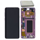 SAMSUNG G965F GALAXY S9 PLUS ΟΘΟΝΗ + TOUCH SCREEN + LENS + FRONT GH97-21691B VIOLET ORIGINAL SERVICE PACK