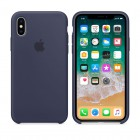 ΘΗΚΗ IPHONE XS/X MQT32ZM/A SILICONE COVER MIDNIGHT BLUE PACKING OR