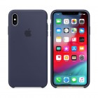 ΘΗΚΗ IPHONE XS MAX MRWG2ZM/A SILICONE COVER MIDNIGHT BLUE PACKING OR