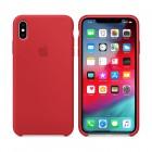 ΘΗΚΗ IPHONE XS MAX MRWH2ZM/A SILICONE COVER RED PACKING OR