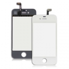 IPHONE 4S TOUCH SCREEN + LENS WHITE WITH FRAME