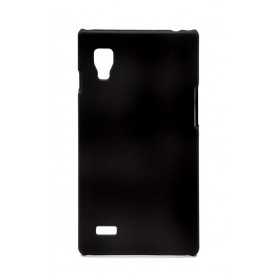 Θήκη Faceplate Ancus για LG Optimus L9 P760 Velvet Feel Μαύρη