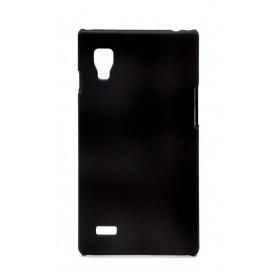 Θήκη Faceplate Ancus για LG Optimus L9 P760 Velvet Feel Μαύρη