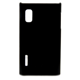 Θήκη Faceplate Ancus για LG Optimus L5 E610 Velvet Feel Μαύρη