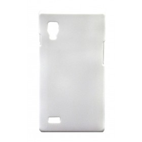 Θήκη Faceplate Ancus για LG Optimus L9 P760 Velvet Feel Λευκή