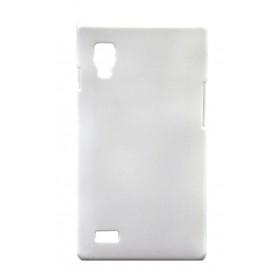 Θήκη Faceplate Ancus για LG Optimus L9 P760 Velvet Feel Λευκή