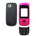 Πρόσοψη Nokia 2220 Slide με πληκτρολόγιο Ρόζ OEM