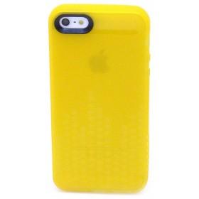Θήκη Σιλικόνης Ancus για Apple iPhone SE/5/5S Glow Κίτρινη