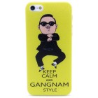 Θήκη Faceplate για Apple iPhone SE/5/5S Gangnam Style Keep Calm Κίτρινη