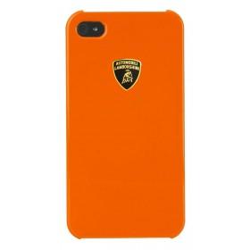 Θήκη Faceplate Lamborghini για Apple iPhone 4/4S Stylish Πορτοκαλί Diablo-D2