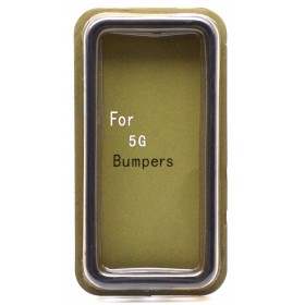 Θήκη Bumper Ancus για Apple iPhone SE/5/5S Μαύρη