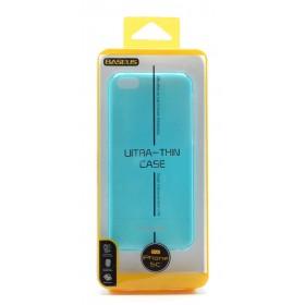 Θήκη Ultra Thin Baseus για Apple iPhone 5C Μπλέ 0.6 mm. + 1x Screen Protector Baseus Ultra Clear Anti-Fingerprint