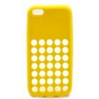 Θήκη Σιλικόνης KLD για Apple iPhone 5C Κίτρινη