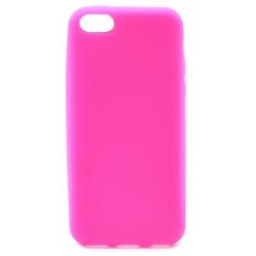 Θήκη Σιλικόνης Ancus για Apple iPhone 5C Ρόζ