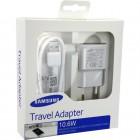 Φορτιστής Ταξιδίου Samsung EP-TA10EWEQGWW USB 3.0  με Αποσπώμενο Καλώδιο για Note 3 ( Note III ) 2000 mAh