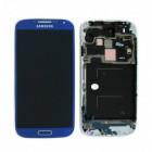 Γνήσια Οθόνη & Μηχανισμός Αφής Samsung i9505 Galaxy S4 Μπλέ GH97-14655C