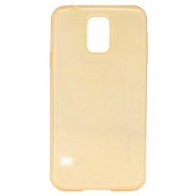 Θήκη TPU Ultra Thin Baseus Air Case για Samsung SM-G900F Galaxy S5 Χρυσαφί