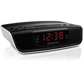 Ραδιόφωνο - Ξυπνητήρι Philips AJ3123 Μαύρο - Λευκό
