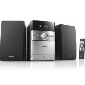 Ηχοσύστημα Micro Philips 4W MC151 Ασημί - Μαύρο με CD/Κασέτα