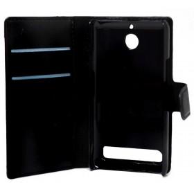 Θήκη Book Ancus Teneo για Sony Xperia E1/E1 Dual Μαύρη